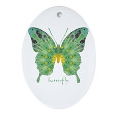 Miracle Butterfly Ornament (Oval)