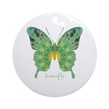 Miracle Butterfly Ornament (Round)