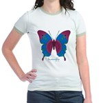 Salvation Butterfly Jr. Ringer T-Shirt