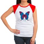 Salvation Butterfly Women's Cap Sleeve T-Shirt