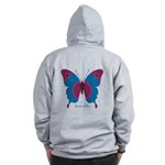 Salvation Butterfly B Zip Hoodie