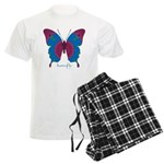 Salvation Butterfly Men's Light Pajamas