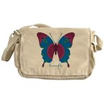 Salvation Butterfly Messenger Bag