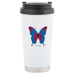 Salvation Butterfly Stainless Steel Travel Mug