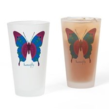 Salvation Butterfly Drinking Glass