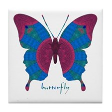 Salvation Butterfly Tile Coaster