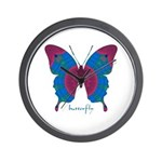 Salvation Butterfly Wall Clock