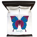 Salvation Butterfly King Duvet