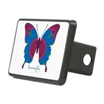 Salvation Butterfly Rectangular Hitch Cover