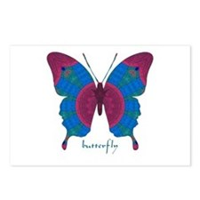 Salvation Butterfly Postcards (Package of 8)