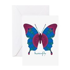 Salvation Butterfly Greeting Card