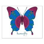 Salvation Butterfly Small Poster