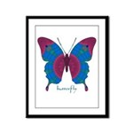 Salvation Butterfly Framed Panel Print