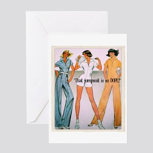 Jumpsuit Greeting Card