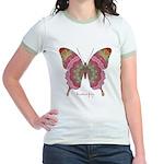 Sweetness Butterfly Jr. Ringer T-Shirt