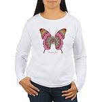 Sweetness Butterfly Women's Long Sleeve T-Shirt