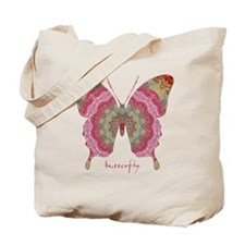 Sweetness Butterfly Tote Bag