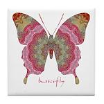 Sweetness Butterfly Tile Coaster