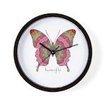 Sweetness Butterfly Wall Clock