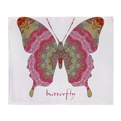 Sweetness Butterfly Throw Blanket