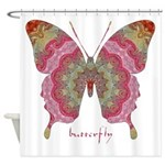 Sweetness Butterfly Shower Curtain