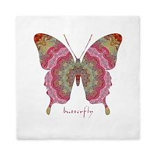 Sweetness Butterfly Queen Duvet