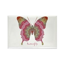 Sweetness Butterfly Rectangle Magnet