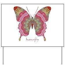 Sweetness Butterfly Yard Sign