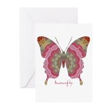 Sweetness Butterfly Greeting Cards (Pk of 20)
