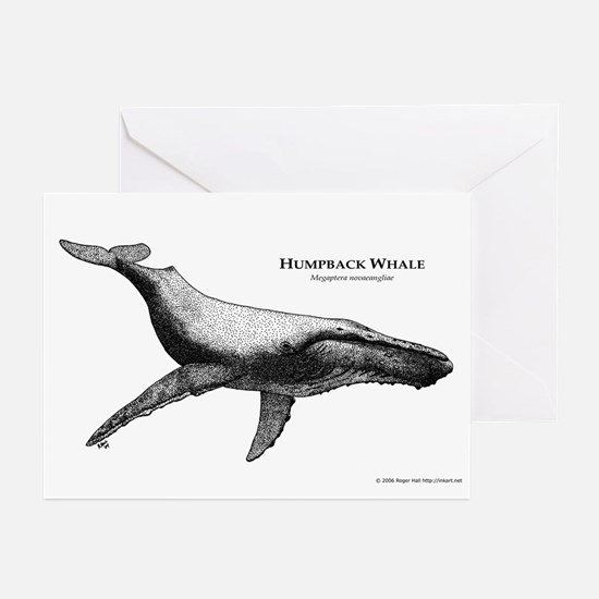 Humpback Whale Greeting Cards (Pk of 10)
