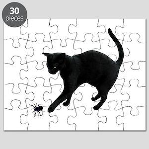 Black Cat Spider Puzzle