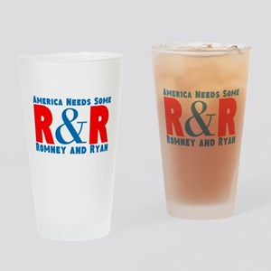 Romney Ryan Drinking Glass