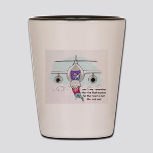 Aviation Humor Shot Glass