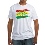 Reggae Culture Fitted T-Shirt