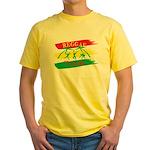 Reggae Culture Yellow T-Shirt