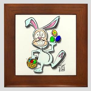 """""""THAT EASTER BUNNY GUY"""" Framed Tile"""