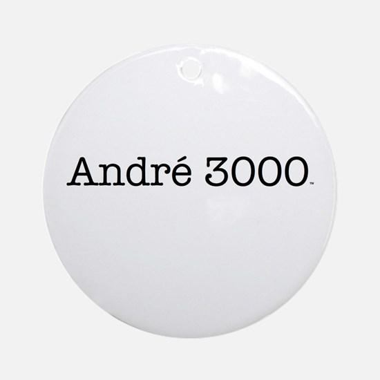 Andre 3000 t-shirt Ornament (Round)