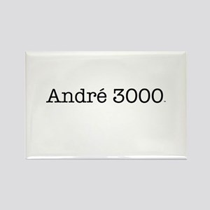 Andre 3000 t-shirt Rectangle Magnet