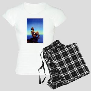 Maxfield Parrish Stars Women's Light Pajamas