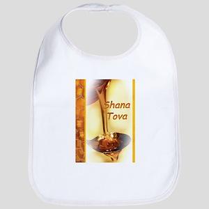 Shana-Tova Honey drawing Happy Rosh HaShana Bib