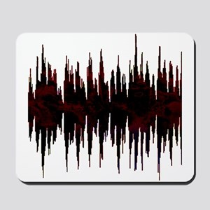Synthesized Army Audio Wave Mousepad