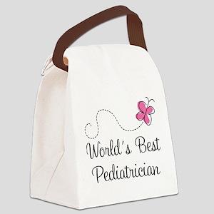 Pediatrician (Worlds Best) Canvas Lunch Bag
