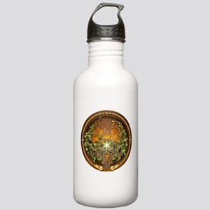 Sacred Celtic Trees - Vine Stainless Water Bottle