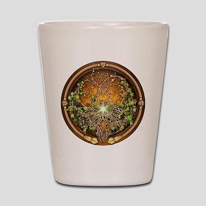 Sacred Celtic Trees - Vine Shot Glass
