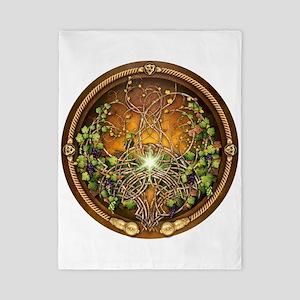 Sacred Celtic Trees - Vine Twin Duvet