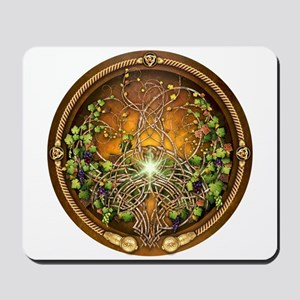 Sacred Celtic Trees - Vine Mousepad