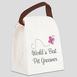 Pet Groomer (Worlds Best) Canvas Lunch Bag