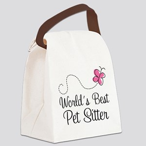 Pet Sitter (Worlds Best) Canvas Lunch Bag