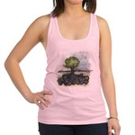 As Above So Below #7 Racerback Tank Top