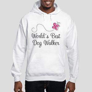Dog Walker (World's Best) Hooded Sweatshirt